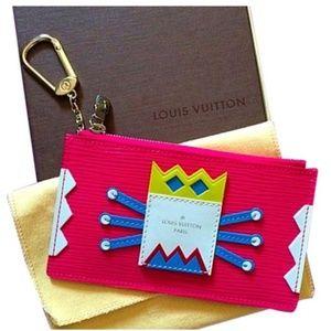 Louis Vuitton Epi Tribal Mask Cles Limited Edition